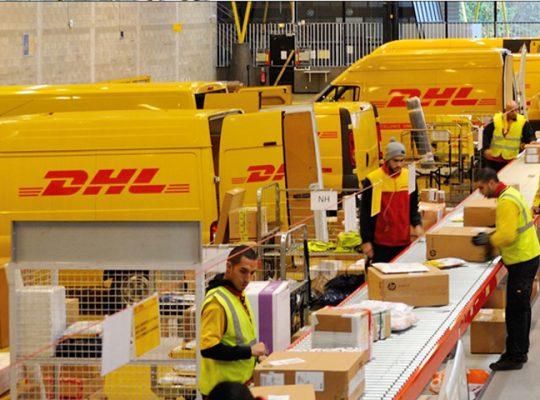Công ty chuyển phát nhanh DHL