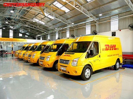 Dịch vụ chuyển phát nhanh DHL tại quận 3
